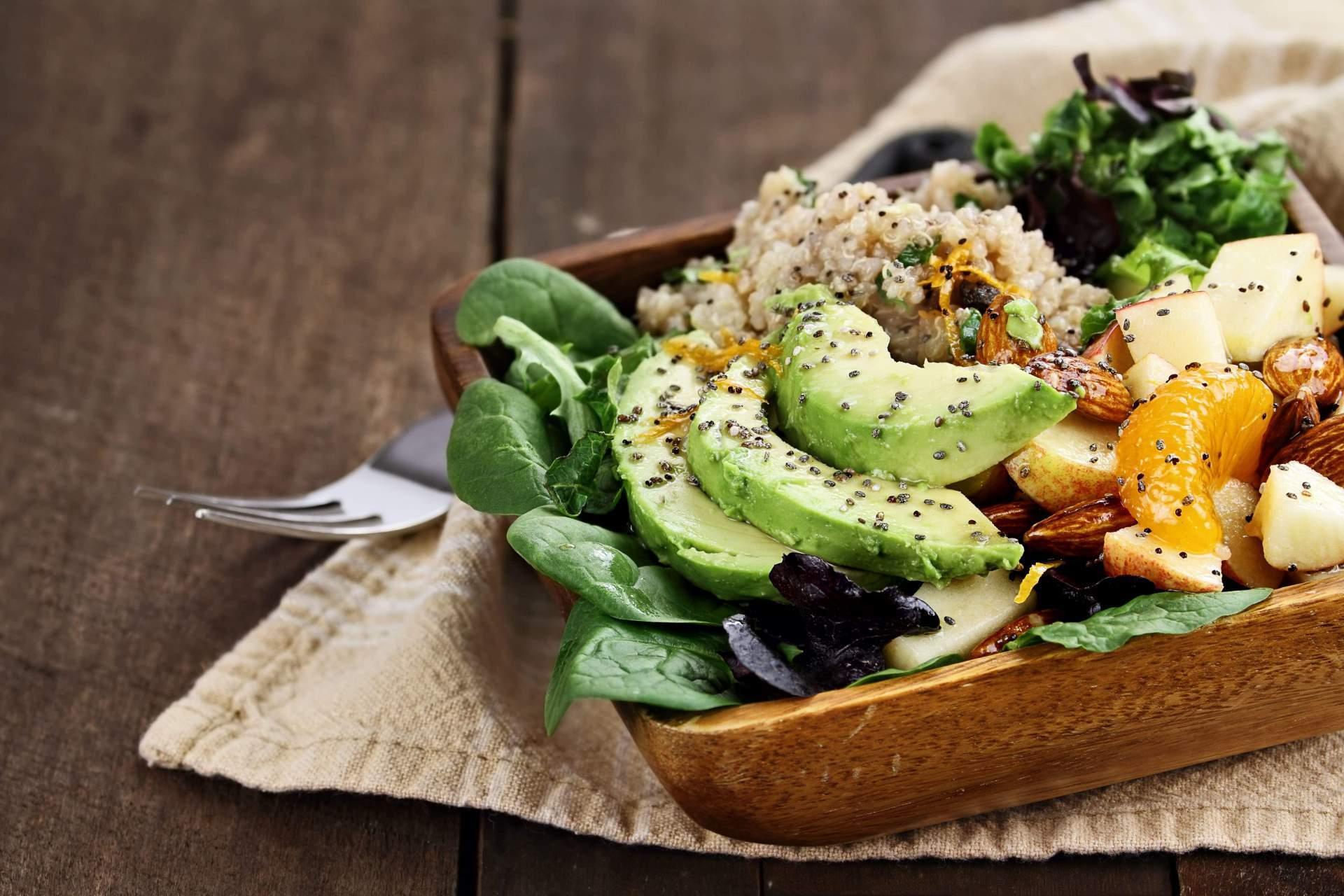 Gesundes Essen einer Ernährungsberatung